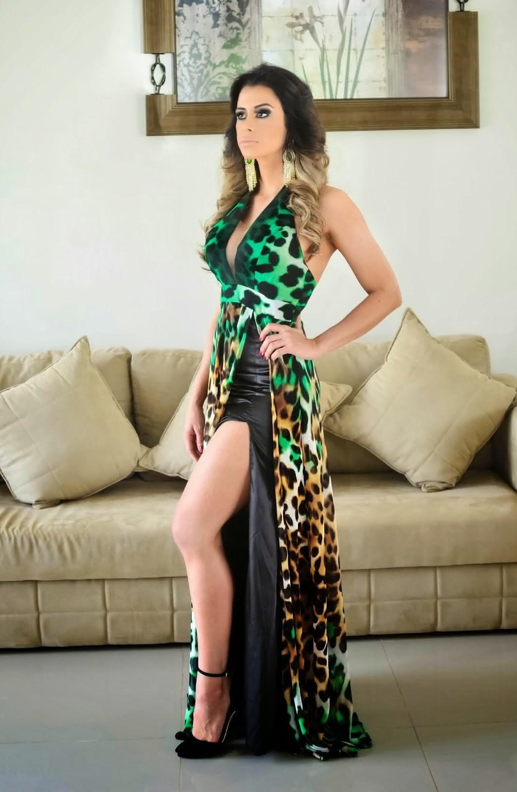 vestidos-com-fenda-estampado