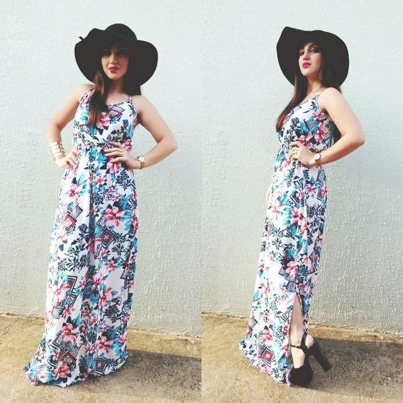 look-vestido-longo-estampado-fenda-chapeu-floppy-feira-hippie-goiania-2
