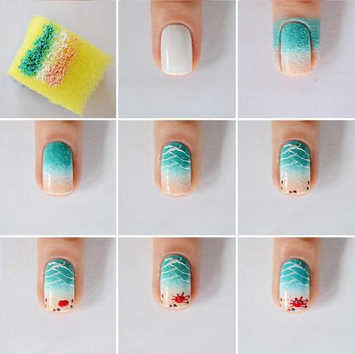 verao-nail-art