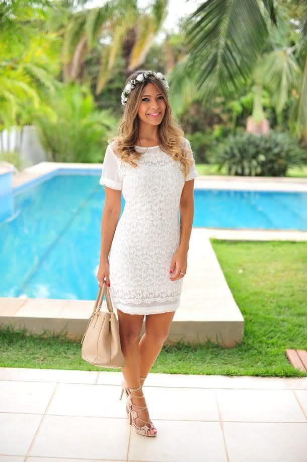 vestidos de reda- branco