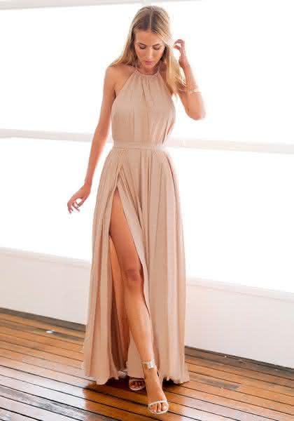 Fotos de vestidos simples para festas