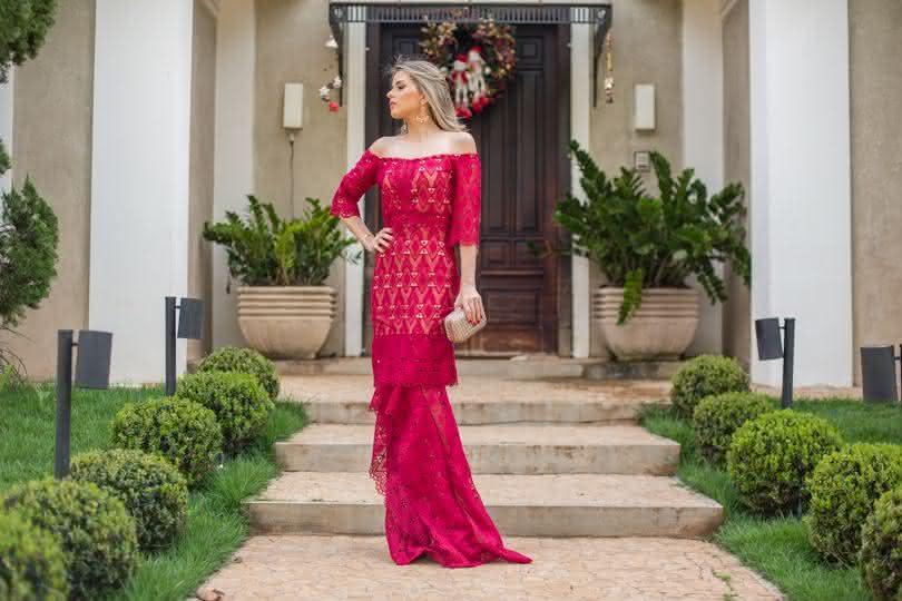 Vestidos longos de festa moda 2018