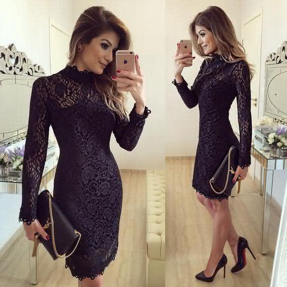 vestidos da moda 2018 bolsa