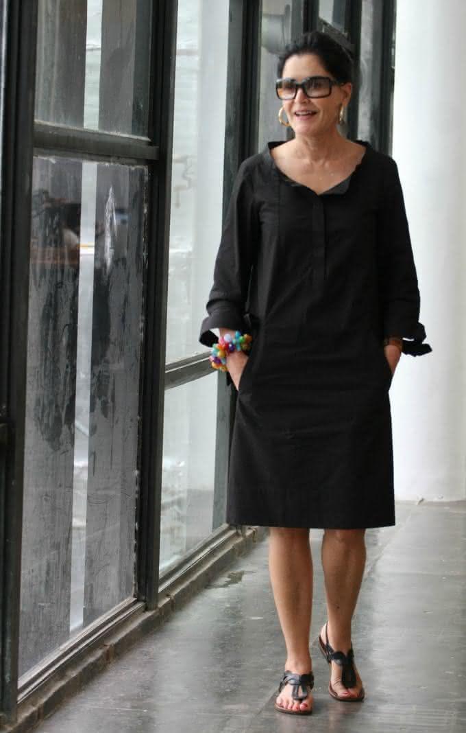 fd287511f1 Caso você queira potencializar o seu vestido simples