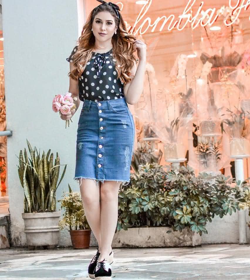 Vestidos jeans 2019 moda evangelica