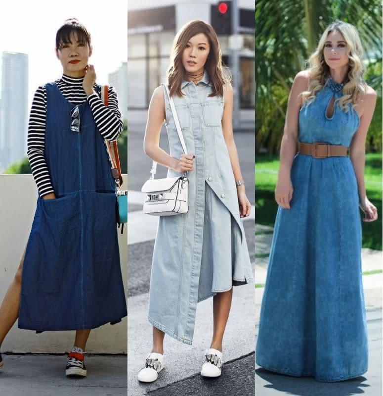 Fotos de vestidos jeans 2019