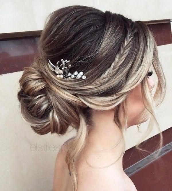 Cf496d1cb8c7e6d8ff53b10c48da4959 Long Wedding Hairstyles Bridal