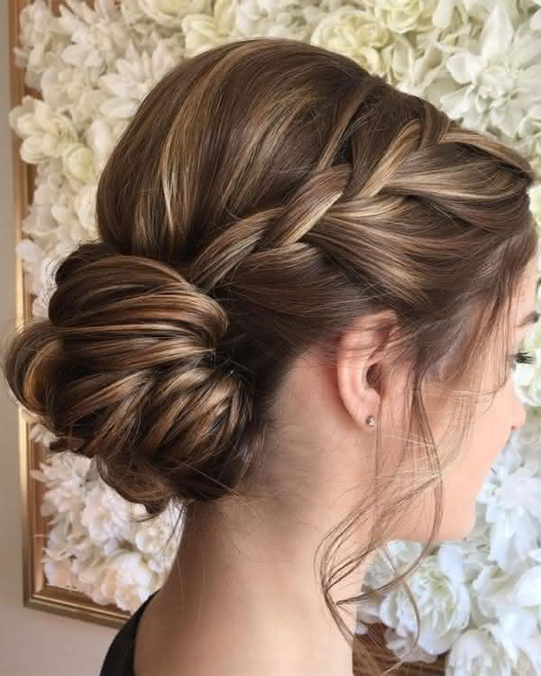Diy Wedding Hairstyles For Medium Hair: Penteados Para Casamento 2019: 60 Fotos, Convidada