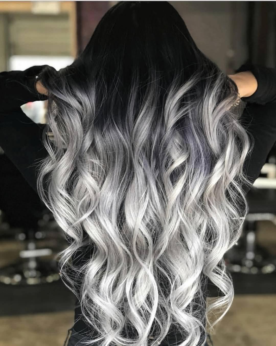 cabelo Platinado 2021 Com Raiz Escura