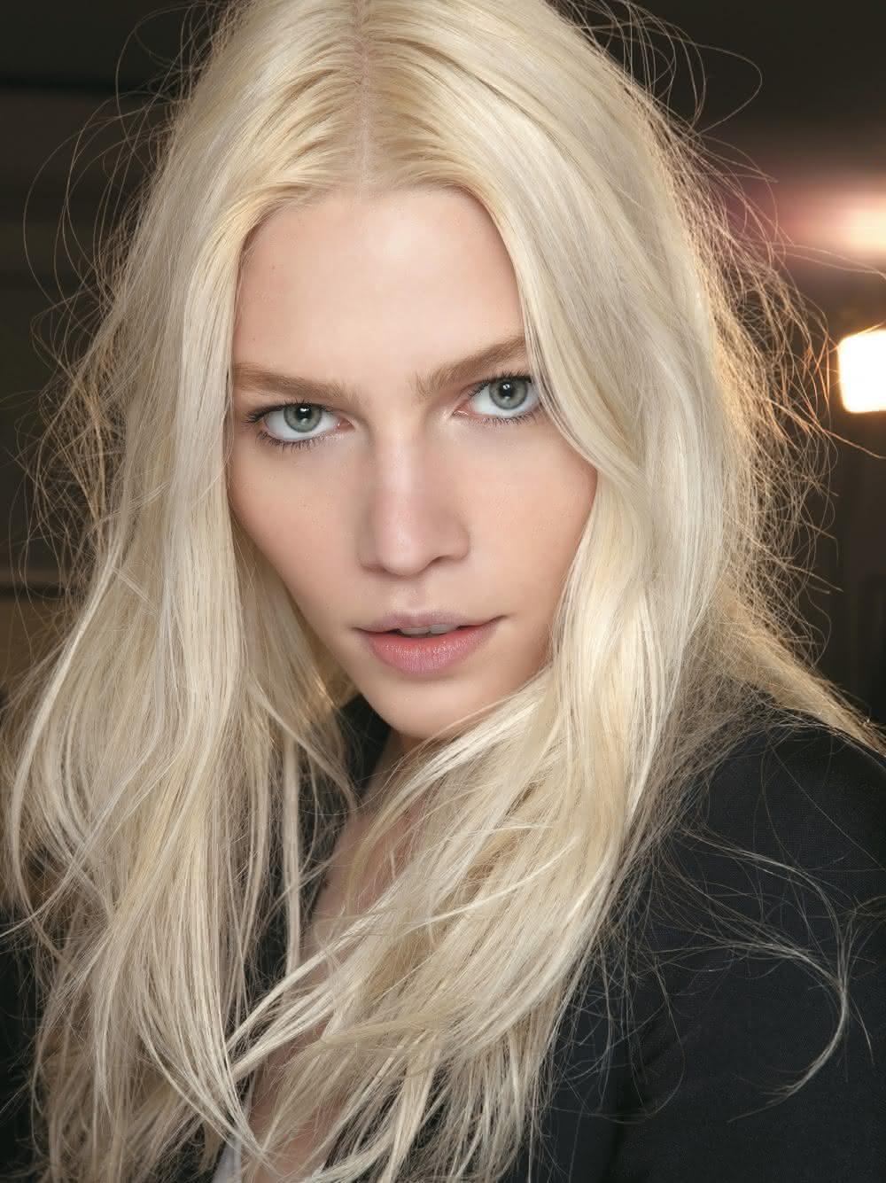 cabelo Platinado 2021 Médio