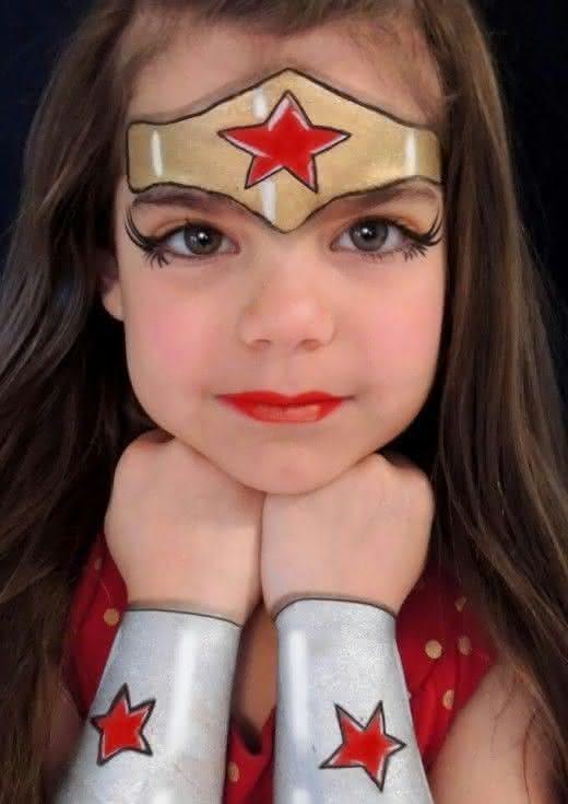 Maquiagem para Carnaval 2021 para Criança