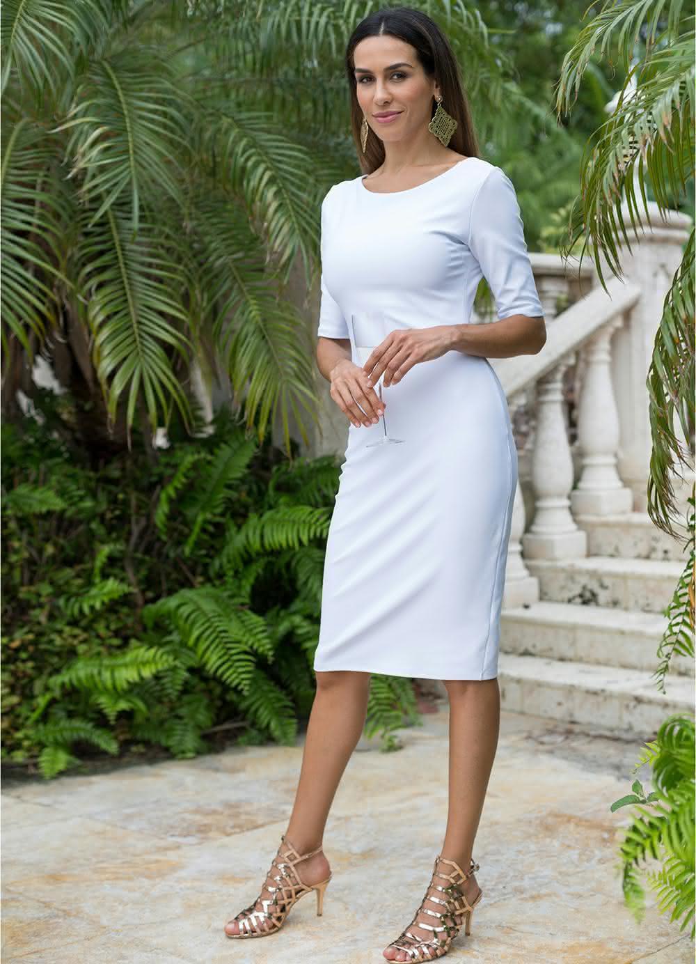Vestidos-tubinho-branco