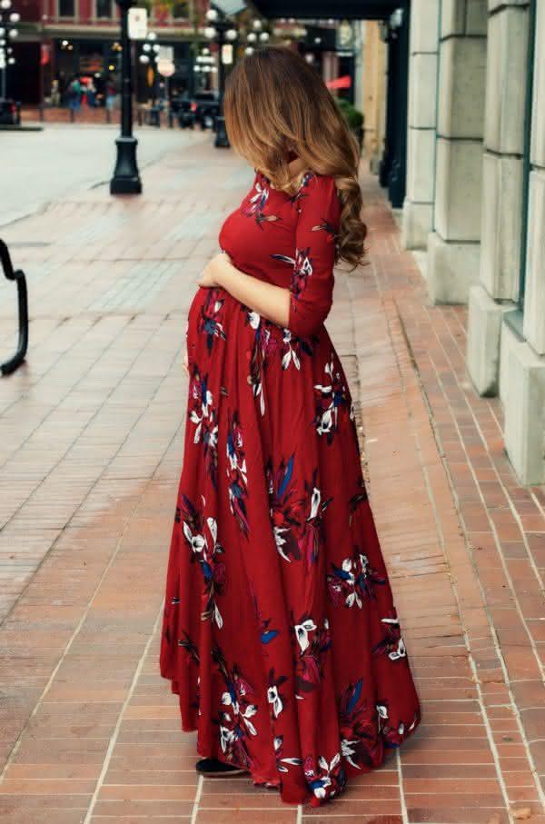 vestidos-estampados-para-gravidas