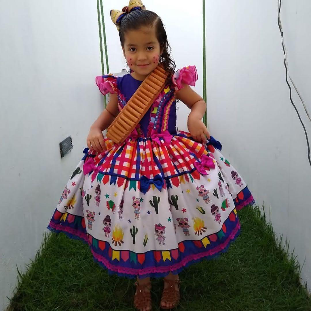 vestido-festa-junina-para-criança