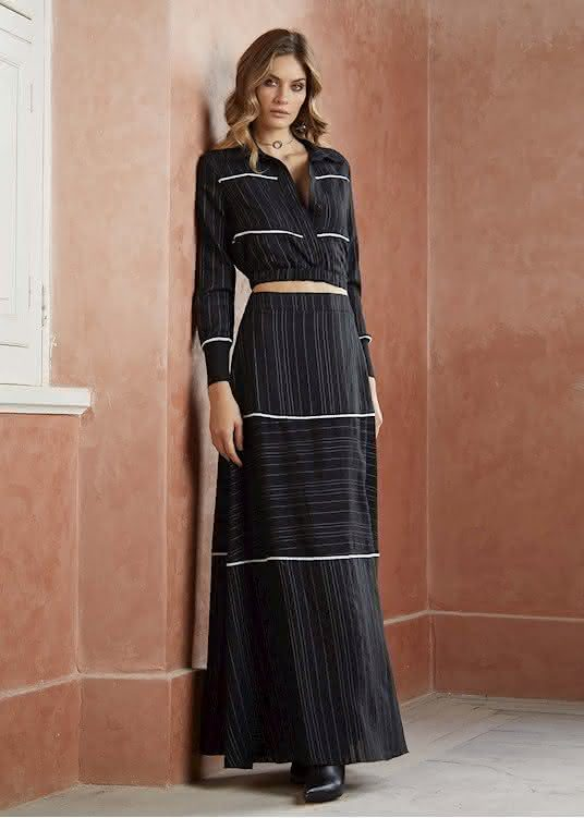 Como usar saias longas 2020