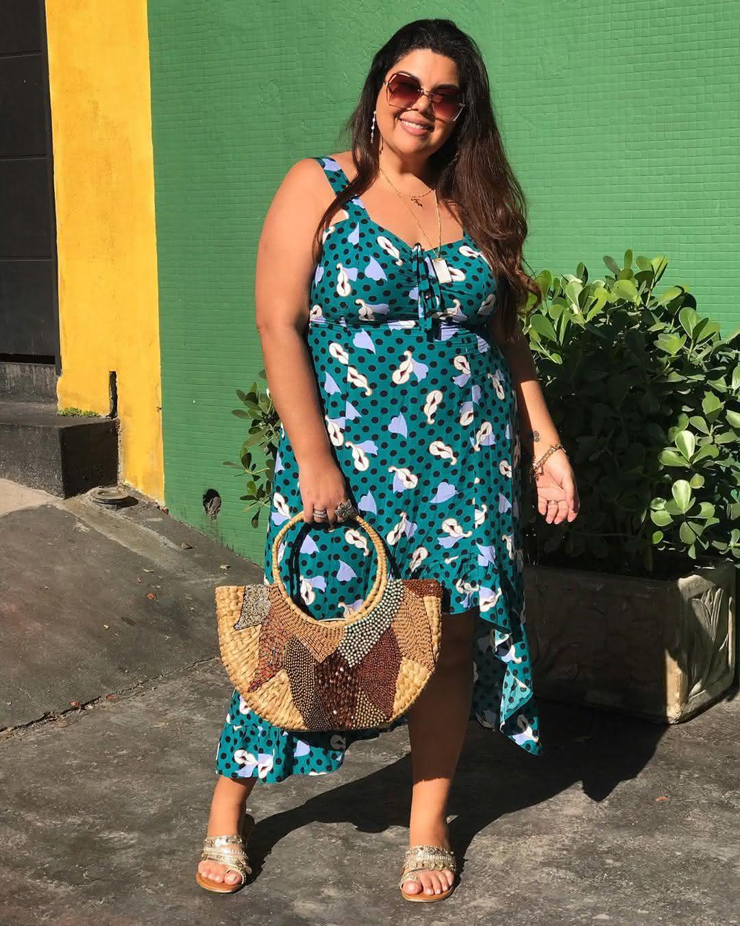 vestidos-para-gordinha-verão