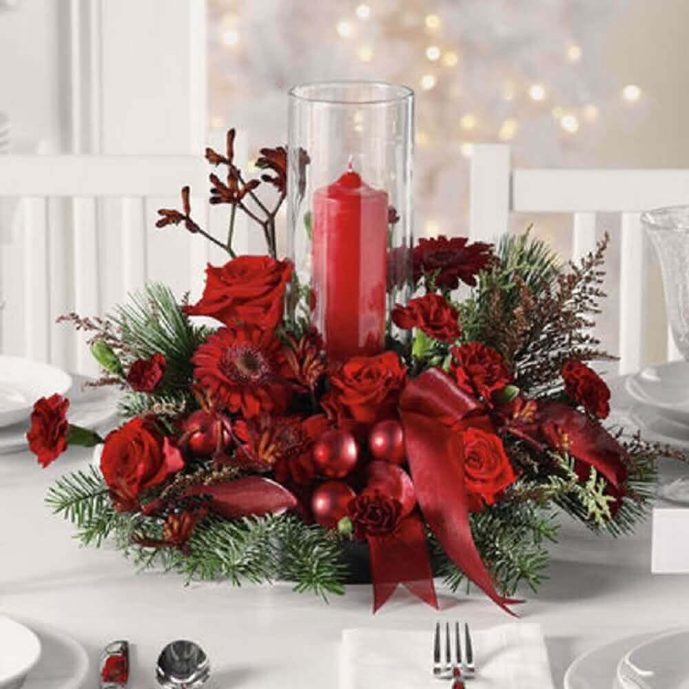jarro de mesa pra natal