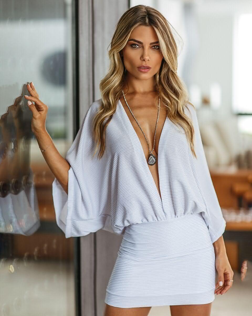 Modelos de vestidos brancos para o réveillon