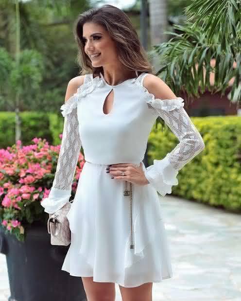 Modelos de vestidos simples para ano novo